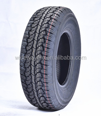 4x4 Semi radial tire all season car tire white letter tyres