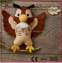 Hot selling Plush key chains and keyring Toys stuffed owl dolls qingdao
