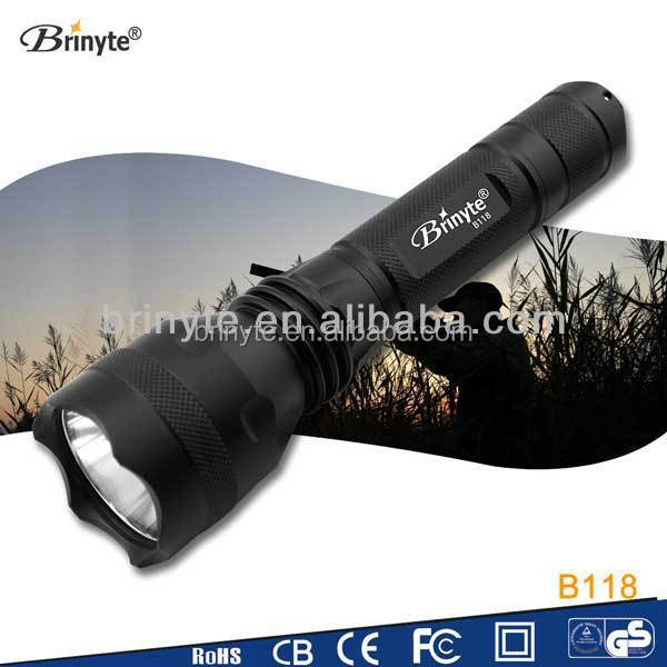 High Power LED Torch Light Hunting Scope Long Distance 300m