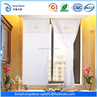 Customize elegant ready made free standing curtain