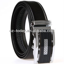 Customized men leather belt wholesale genuine leather belt classic automatic buckle