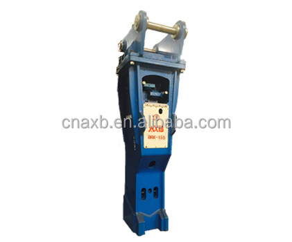 AXB hydraulic rock breaker for excavator, hydraulic breaker for mini excavator