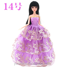 2016 Wholesale 30cm barbie doll dress up games for girls american girl doll clothes