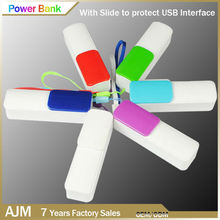 2600mah powerbank portable charger power bank mini charging the battery case