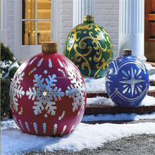 Popular vacuum thermoforming plastic ganit christmas ball for Christmas decoration