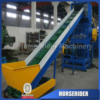 pp pe film washing recycling plant/waste plastic crushed plant /pp pe film scraped recycling machine