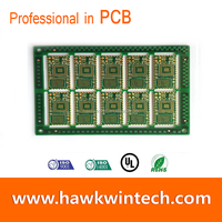 6 Layer BGA Immersion Gold Power