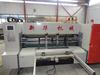 automatic corrugated board flexo printing slotting machine