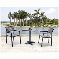 Hot sale modern garden table and chairs