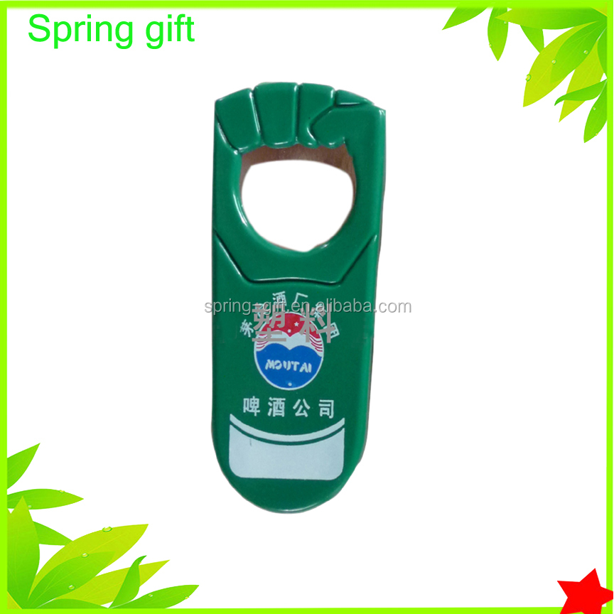 promotion plastic bottle opener / metal bottle opener /customize wine bottle opener