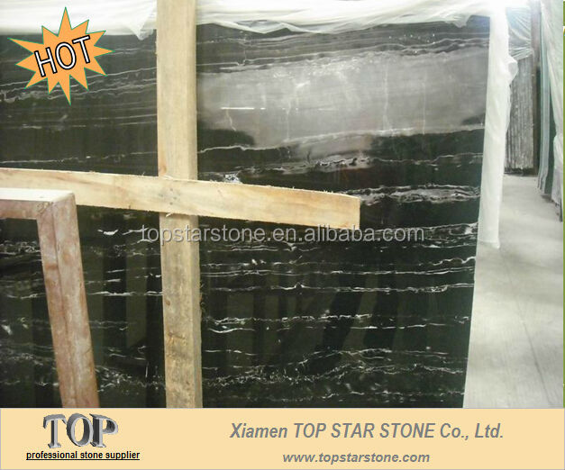 TOPSTAR Polished Silver Grey Marble