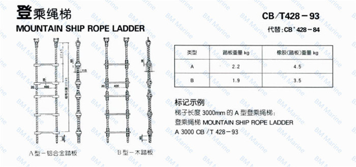 B M Marine Boat Climbing Rope Ladder Buy Climbing Rope Ladder