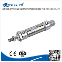 Factory direct sales double acting pneumatic cylinder used
