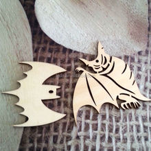 2015Teda Luxury Handmade Wood Halloween Cutouts hanging gift for guests
