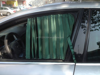 car privacy made silk pressure folding window curtains for 2012 Polo