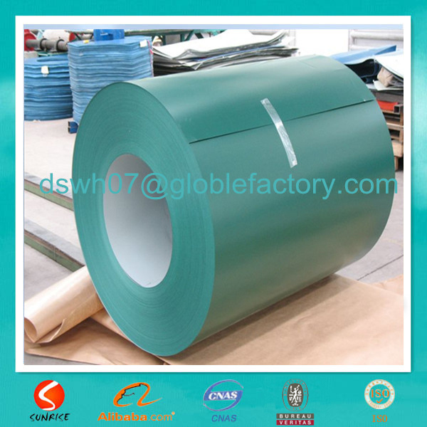 PPGI, color coated / pre painted steel strip / coil