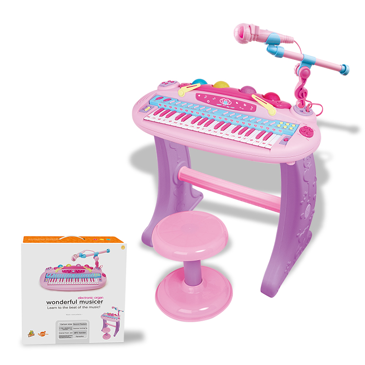 Children Educational Toys 37 Key Organ Musical Instrument For Kids