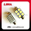 led festoon bulb smd t10x36MM canbus 5050 C5W