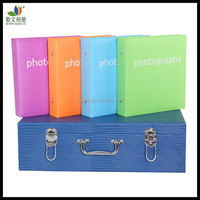 Wholesale best quality wedding leather photo albums case