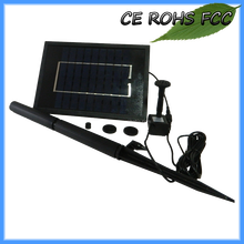 Easy to operated solar powered fountain garden water features pump