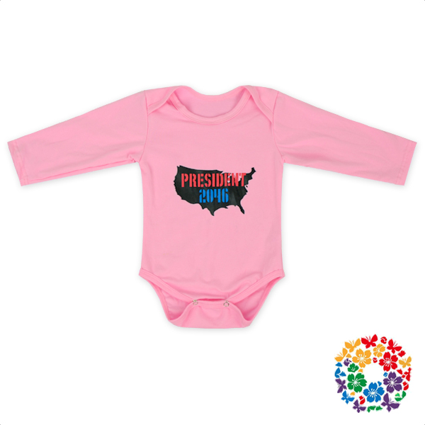 New Style Baby Boys And Girls Long Sleeve Cotton Romper Latest Frock Design Printing Unicorn Onesie