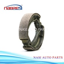China motorcycle parts OEM high quality motorcycle brake shoe for honda TIGER