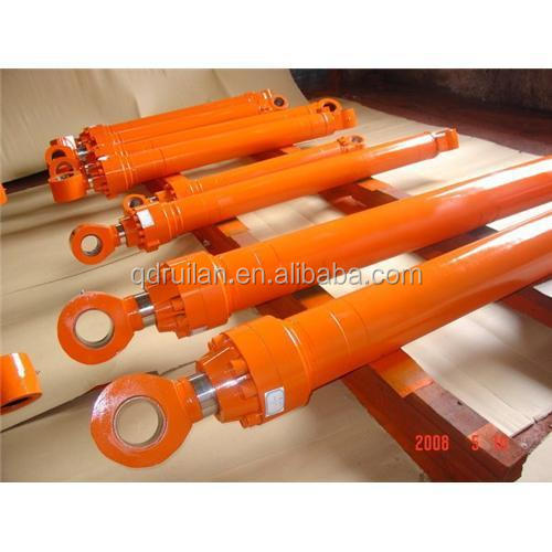 China supplier Ruilan supply two stage hydraulic cylinder 3-stage hydraulic cylinder hydraulic cylinder for tipper used