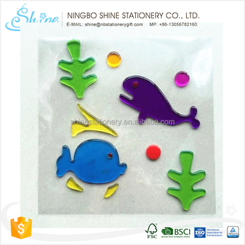 factory direct custom design gel sticker for holiday
