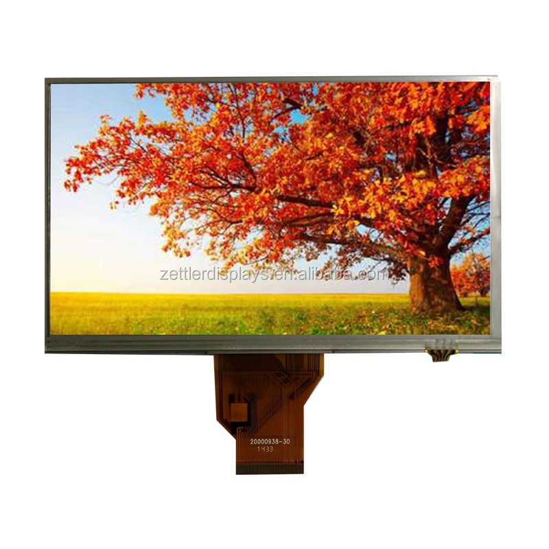 touch screen 7 inch resistive and 800x480 resolution