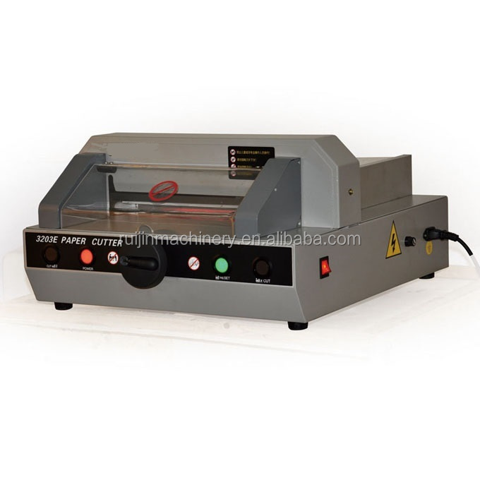 QZ-320 3E paper cutter / electrical guillotine / electric cutting machine