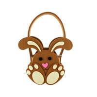 2015 Happy Easter bunny decorative wholesale Easter baskets for promotion