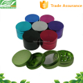 colorful Aluminum CNC herb grinder china supplier The Green Vapor wholesale