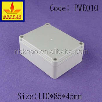 small plastic weatherproof electric enclosure