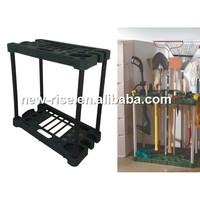 Rectangle Garden Long Handle Tools Storage Rack