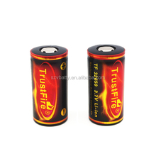 2015 hot selling 32650 protected li-ion battery , trustfire 32650 6000mah li-ion battery