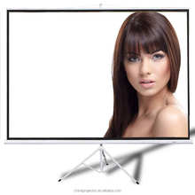 Best Cheap Projector Screen 150 Inch 4:3 Foldable Tripod Standing Projection Screen Matt White Outdoor/Indoor Screen