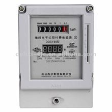 2012 NEW DDSY86 Single-Phase Prepaid Electric Meter