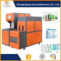Semi automatic 5 gallon pc plastic bottle manufacturing making machines price for pet preform