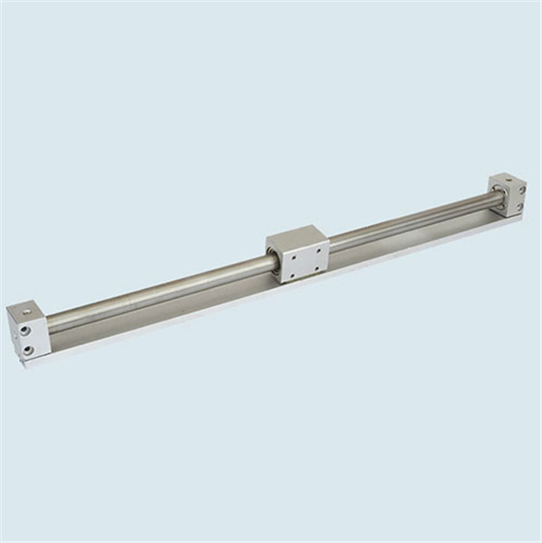 High quality HFZ parallel air gripper piston rod cylinder double acting double rod cylinder design of pneumatic cylinder