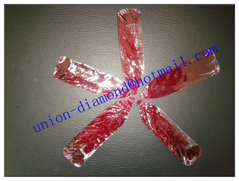 High quality 5# uncut ruby raw material