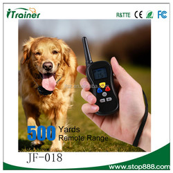 300m Remote Control, No Barking Electric Shock Dog Training Collar