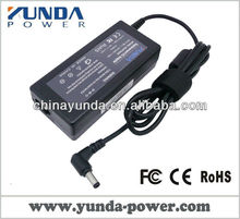 Genuine YUNDA laptop power adapter 65w 19v 3.42a for ASUS A2L A2 SA6 A8 F8 S1 U3 N70