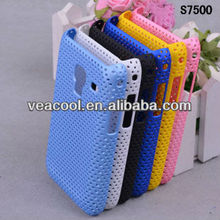 Hole Rubber Hard Case Cover for Samsung Galaxy Ace Plus S7500