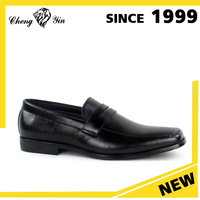 Cheap Shoes Flat Heel Patent Pu Office Formal Black Man Dress Shoes Wholesale