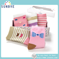 Wholesale Custom Made China Socks for newborn baby booties