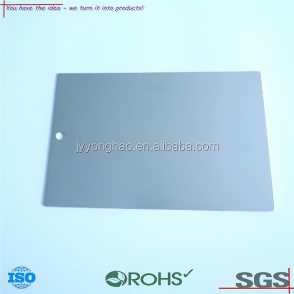 OEM ODM customized precision standard color plate painting test color plate