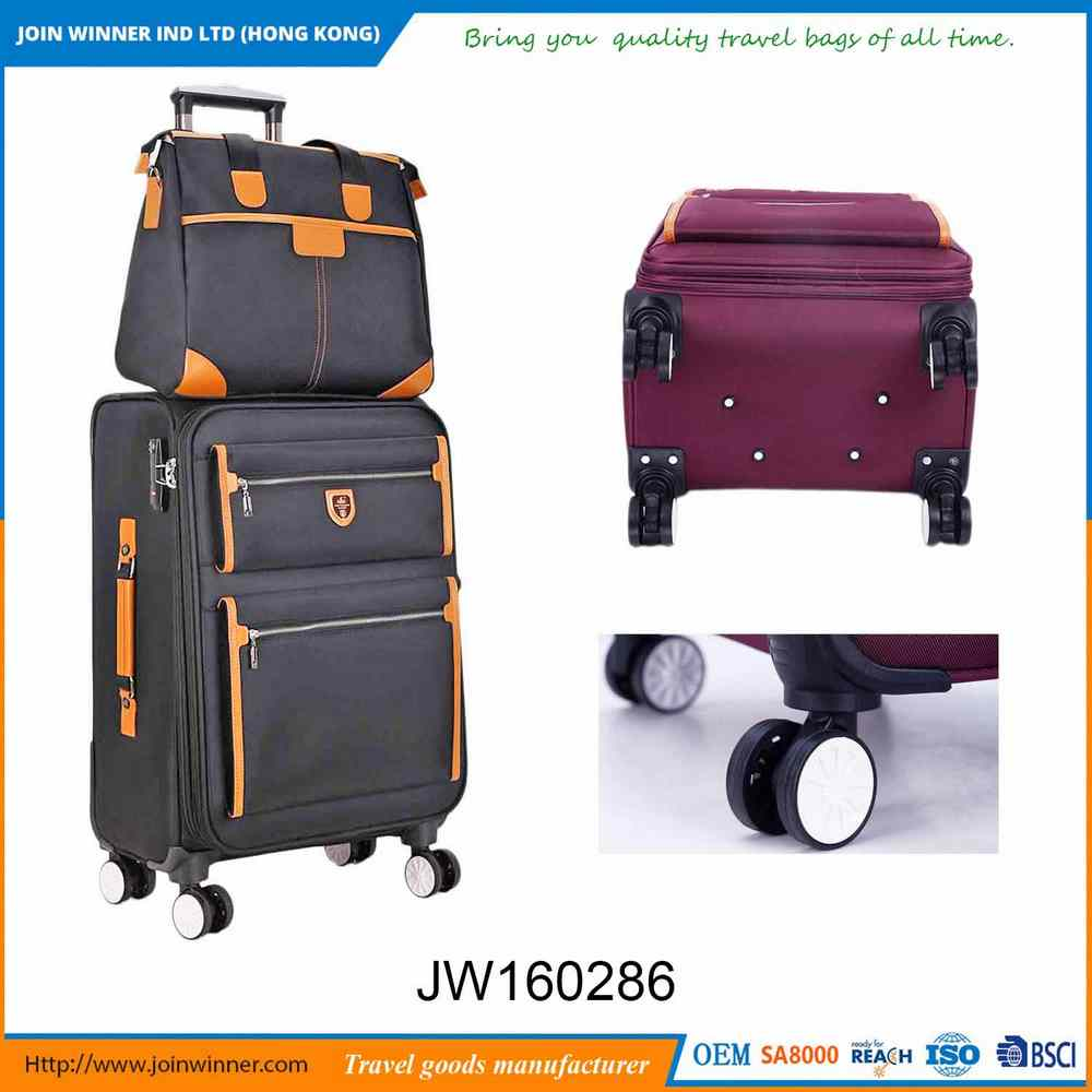 Factory Wholesale Travel Trolley Luggage Bag With Promotional Price