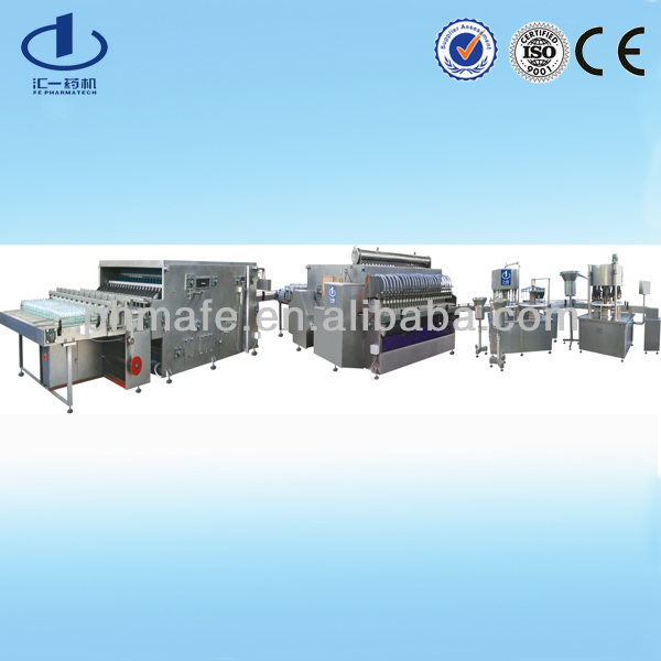 pharmaceutical injectable making production line