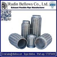 Ruian Rudin 51*220/320mm truck exhaust pipe with stainless steel material