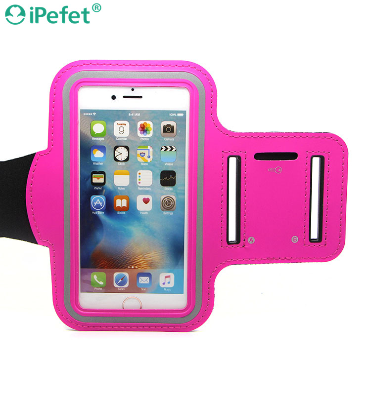 Sweatproof Sports Cycling Workout Armband Waterproof Running Touch Supported Ultra Thin Phone Case with Key Holder